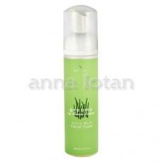 Деликатный мусс для очищения кожи лица Greens